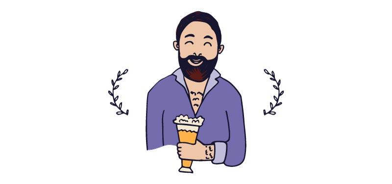 catar una cerveza artesanal - el aftertaste
