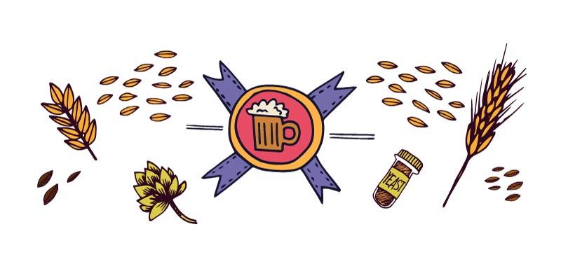 catar una cerveza artesanal - el aroma