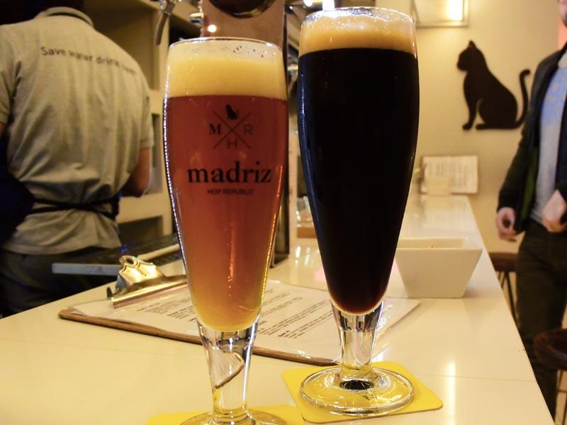 Cerveza para el frío - Baltic Porter de Madriz