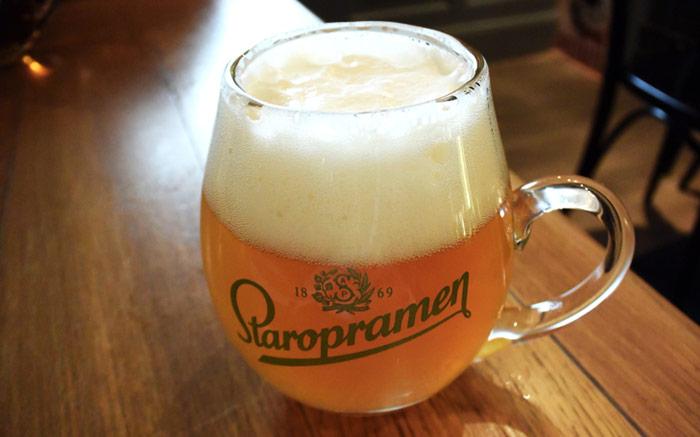 Cerveza Artesanal Praga Staropramen