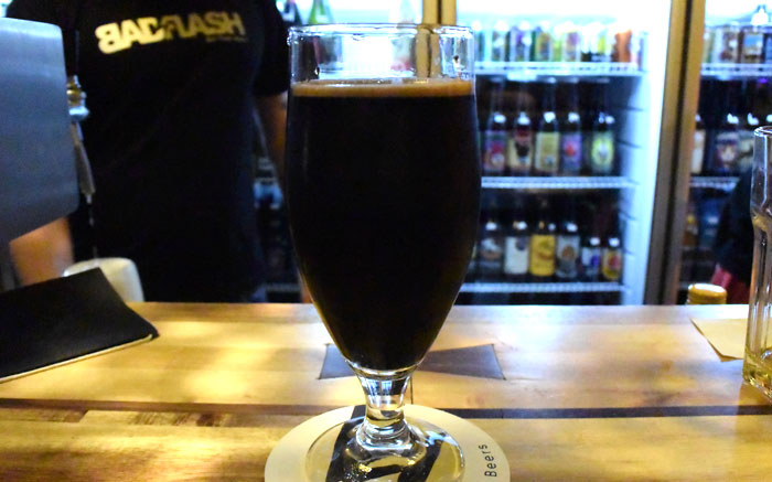 Cerveza Artesanal de Praga - Bad Flash Stout