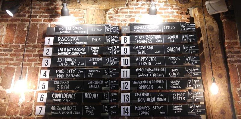 cerveza de barril madrid the beer tasters