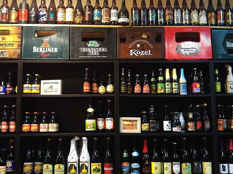 cervezas del mundo tomadas en marzo