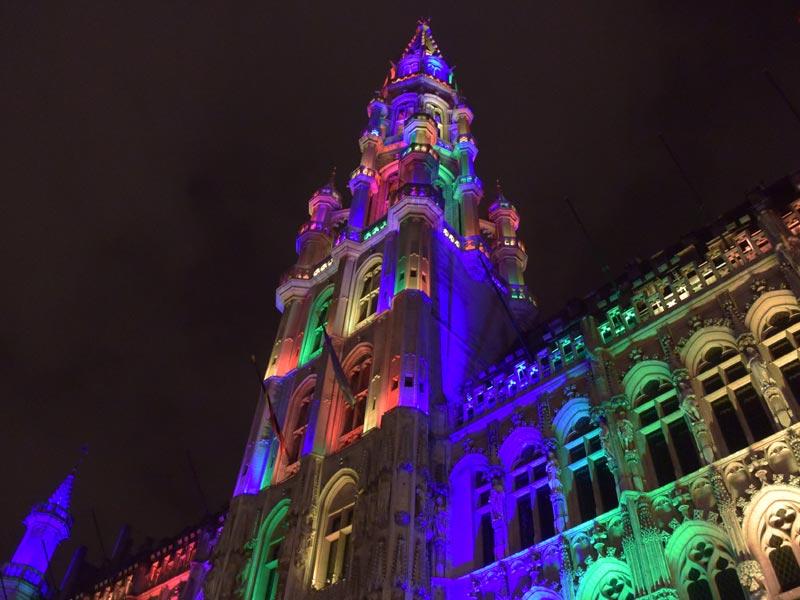 Visita Bélgica centro