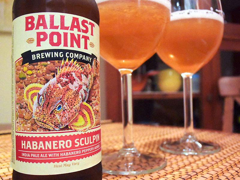 cervezas ballast point habanero