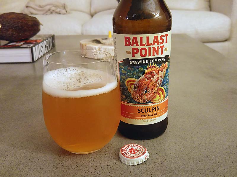 Cervezas Ballast Point Sculpin