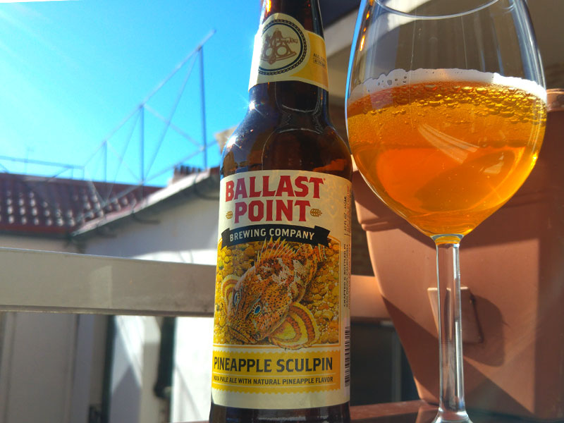 India Pale Ale Frutales Pineapple Sculpin Ballast Point