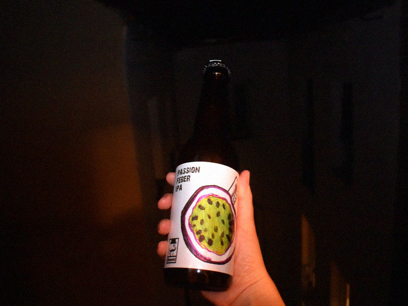 India Pale Ale Frutales IPA Frutal Passion Feber IPA