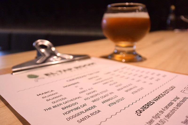 el taproom cerveza