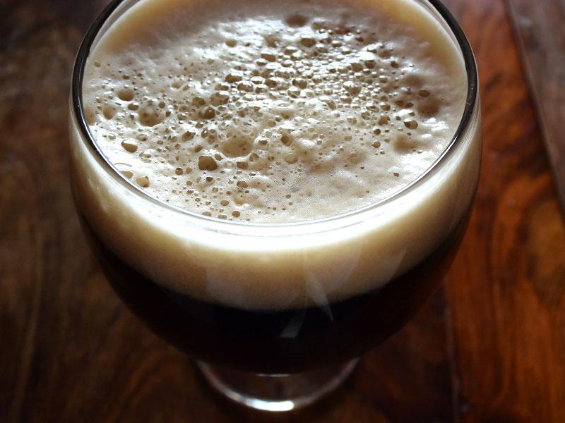 cervezas para el frio - una stout espumosa