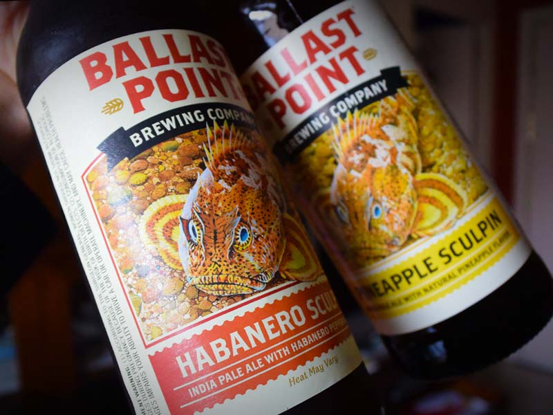 Cervezas Ballast Point